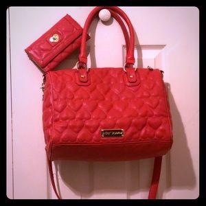 Betsey Johnson Bag and wallet